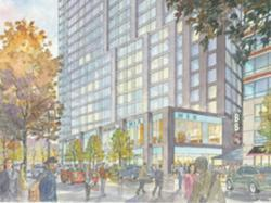 Samuels & Associates has proposed a $175 million apartment tower for the Fenway.