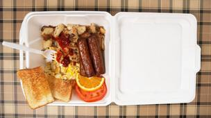 Plastic foam (often called Styrofoam) food containers would be banned in Brookline under a proposal set to go before town meeting this fall.