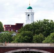 Harvard University, whose campus straddles the Charles River and the Cambridge-Boston border, had 724 job openings reported by Simply Hired for February.