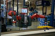 Rethink Robotics on Tuesday unveiled Baxter, its $22,000 robot that can assist factory workers with a variety of repetitive tasks.