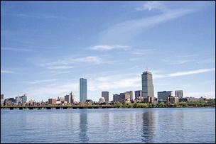Greater Boston's offices saw the vacancy rate drop in the first quarter.