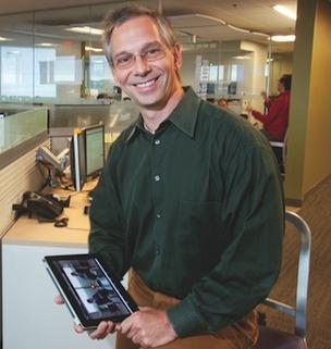 Verivo Software CEO Steven Levy said his firm's customer base has widened into manufacturing, pharmaceuticals and gas and oil.