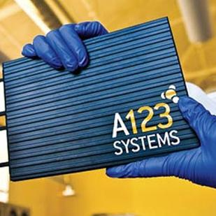 A123's auto industry assets went to Chinese auto parts maker Wanxiang in a bankruptcy aouction.