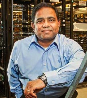 Actifio founder Ash Ashutosh. The data storage company has raised another $55 million in growth equity.