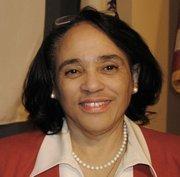 Superintendent of Schools Carol Johnson. Regular compensation: $266,750.10. Total compensation: $323,222.47.