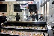 The sushi bar at Walgreens on Washington Street.