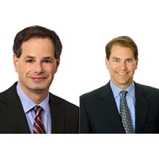 No. 5: Foley Hoag LLP. 60 IP lawyers in Mass. Adam Kahn (left) and William Kolb, co-managing partners.