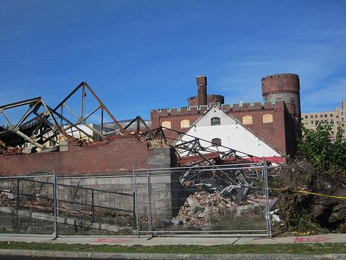 The Howard Street Armory in Springfield made the 2011 list of most endangered properties after it was hit by a tornado.