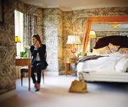 2) The Presidential Suite, 6thfloor, Four Seasons Hotel.200 Boylston St., Boston (photo 1 of 3).What you get:2,590 square feet with views of Boston Public Garden. One master bedroom (suite can be altered up to a 4-bedroom suite) with living room, dining room with seating for 10, office/den, two full bathrooms and dressing area.What sets it apart:Full kitchen with hallway entrance/exit for chefs, private balcony, walk-in closet and dressing area and baby grand piano. Marble entry foyer and fireplace. Guests have access to complimentary hotel car and opportunity to enjoy a private Duck Tour with pickup and drop off at hotel (fee included) and/or morning jog with marathon legend Bill Rogers (fee included).Who's slept there:Former Boston Pops conductor John Williams.What you'll pay:$8,000 per night