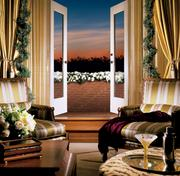 2) The Presidential Suite, 6thfloor, Four Seasons Hotel.200 Boylston St., Boston (photo 2 of 3).What you get:2,590 square feet with views of Boston Public Garden. One master bedroom (suite can be altered up to a 4-bedroom suite) with living room, dining room with seating for 10, office/den, two full bathrooms and dressing area.What sets it apart:Full kitchen with hallway entrance/exit for chefs, private balcony, walk-in closet and dressing area and baby grand piano. Marble entry foyer and fireplace. Guests have access to complimentary hotel car and opportunity to enjoy a private Duck Tour with pickup and drop off at hotel (fee included) and/or morning jog with marathon legend Bill Rogers (fee included).Who's slept there:Former Boston Pops conductor John Williams.What you'll pay:$8,000 per night.