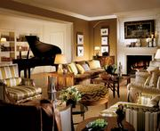 2) The Presidential Suite, 6thfloor, Four Seasons Hotel.200 Boylston St., Boston (photo 3 of 3).What you get:2,590 square feet with views of Boston Public Garden. One master bedroom (suite can be altered up to a 4-bedroom suite) with living room, dining room with seating for 10, office/den, two full bathrooms and dressing area.What sets it apart:Full kitchen with hallway entrance/exit for chefs, private balcony, walk-in closet and dressing area and baby grand piano. Marble entry foyer and fireplace. Guests have access to complimentary hotel car and opportunity to enjoy a private Duck Tour with pickup and drop off at hotel (fee included) and/or morning jog with marathon legend Bill Rogers (fee included).Who's slept there:Former Boston Pops conductor John Williams.What you'll pay:$8,000 per night