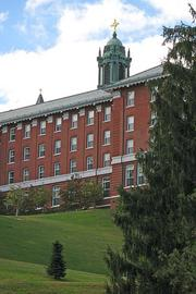 College of the Holy Cross in Worcester's 4-year graduation rate of 87 percent was seventh-best in the state in 2011.