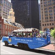 Tour guides and escorts. Massachusetts tour guides can expect to make $27,740 to $28,700 at the median. There are 1,290 such jobs in the state.