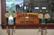 Jack's Abby Brewing 81 Morton St., Framingham, MA 01702(508) 872-0900 / www.jacksabbybrewing.comOwners: Jack, Eric and Sam HendlerOpened: July 2011Production: Projecting 5,000 barrels this year. Inventory: Variety of lagers from Rauchbiers to India PaleDistribution: Throughout MassachusettsMiscellaneous: The name Jack's Abby Brewing pays homage to Jack's wife, Abby, while evoking the tradition of monastic groups in Europe creating handcrafted beers in their abbeys. The Smoke & Dagger beer won bronze in the Smoked Beer category at Great American Beer Festival. All of Jack's Abby beer is brewed on premises.