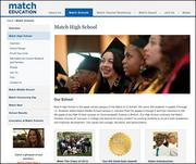 THE TOP 10MATCH Charter Public School (Boston)  Grade level: 10  Statewide rank: 2  Total students tested: 56  Advanced scores (%): 61  Proficient scores (%): 38