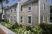 The David Joy House on Nantucket rents for $17,000 per week in the summer. The restored historical home is equipped with five flat screen TVs, among other amenities.