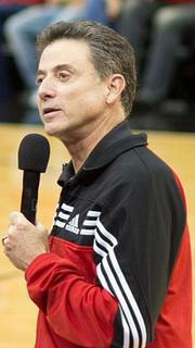 Louisville's Rick Pitino (age 60)  Annual salary: $4.8 million, which includes a base salary of $3.9 million and $912,769 in bonuses.   Miscellaneous: Last year, Pitino earned about $9 million, according to USA Today, after receiving a one-time bonus of $3.6 million. It should also be pointed out that under Pitino, the men's basketball program generated around $25 million in profit last season, according to Forbes. It also estimates Pitino's networth at $15 million.
