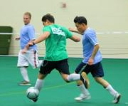 Employees at Biogen Idec have been playing in several indoor and outdoor soccer leagues through the Boston Ski and Sports Club for the past several years.