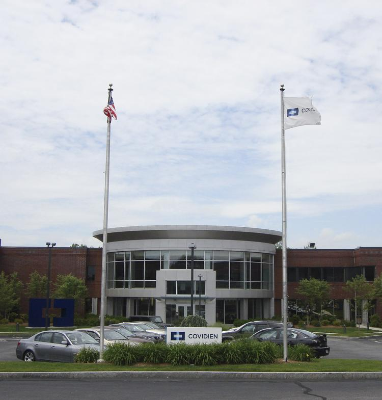 Covidien, based in Dublin with U.S. headquarters in Mansfield, Mass., said it will close manufacturing and distribution facilities as part of a restructuring plan.