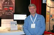 Jim Schillawski, a consulting systems engineer at Boston's Symmetric Computing, a developer of super-computing software for researchers and developers, was on hand at Bio-IT World Conference & Expo to answer questions about the company.