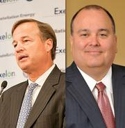 Highest-paid CEO, 2010: Mayo Shattuck vs. Mark Casady. Mayo A. Shattuck III runs Constellation Energy, and earned $16 million in 2010. Mark Casady runs LPL Investment Holdings, and earned $114 million in 2010, mostly from the company's IPO. Advantage: Baltimore.