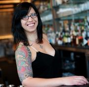 A tall order: Invent new dishes as fast as Misty Kalkofen comes up with cocktails at her new spot, Brick & Mortar, in Cambridge's Central Square.
