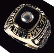 Hall of Fame ring: Lot No. 425, Ted Williams' Hall of Fame induction ring. Estimated value: $30,000 to $50,000.