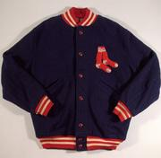 Warmup jacket: Lot No. 49, 1950s-1960s vintage warmup jacket as worn by Ted Williams. Estimated value: $20,000 to $30,000.