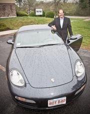"""Ray Belanger, President, Bay Copy. 2007 Porsche Boxster. """"My wife reminds me that it's not practical and you can't carry anything in it (not necessarily disadvantages from my point of view)."""""""
