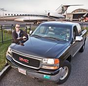 """William (Bill) Herp, Founder and CEO, Linear Air. 2001 GMC Sierra 1500 Z71. """"I also ride to the office on a Royal Enfield Bullet 500 when the weather is nice."""""""