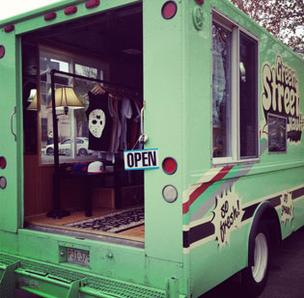 Green Street Vault's fashion truck