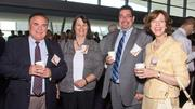 Winchester Hospital employees at the Best Places to Work breakfast.