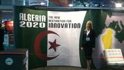 """Algeria's small booth at the conference with its fresh red ribbon waiting to be cut, signals the launch of the Algeria 2020 campaign, which is described in economic development literature as an """"aggressive investment and development program focused on the health sector"""". The northern African nation sent both its U.S. Ambassador and its Minister of Health to add weight to its delegation."""