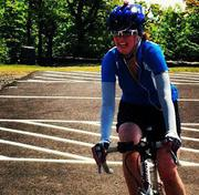 "Jennifer Lane, founder, Compass Planning Associates. Funds raised to date: $3,800. Goal: $3,500 (donations page). ""I'm riding this ride for those I love who can't. In 1994 I lost my Aunt Janet to non-smoker's lung cancer. Her daughter, my cousin, Jody, followed 7 years later, succumbing to leukemia in September 2001. Over the years many of my friends have fought cancer. Some have won and are still fighting. Some haven't. I'm riding for all of them."""