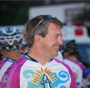 Rob DeMartini, president and CEO of New Balance. Total raised to date: $6,400. Fundraising goal: $10,000 (fundraising page).This will be DeMartni's sixth ride in the PMC and the company's fourth year as a sponsor of the event. In 2010, New Balance became the official co-presenting sponsor of the PMC and was named the exclusive footwear and apparel sponsor for the charity biking event.