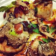 Lisa Flores, director of sales and marketing at Mistral in Boston, regularly shares Instragram photos for the restaurant. This scallop dish is on Mistral's summer menu.