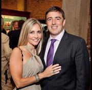 Wyc Grousbeck (pictured, right, with wife, Corinne) is CEO and co-owner of the Boston Celtics. More: Here are 6 Boston power couples you might not have met.
