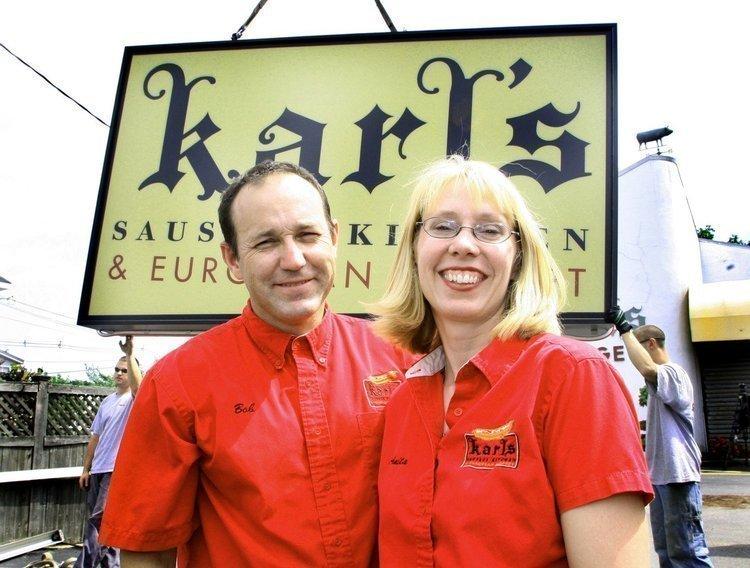 Robert and Anita Gokey, owners of Karl's Sausage Kitchen & European Market.