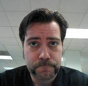 Acquia's Al Steffen contributed to the Boston software company's Movember fundraise with a classic Fu Manchu.