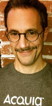 Acquia Technical Account Manager Andy Laken joined the Boston software company's Movember effort.