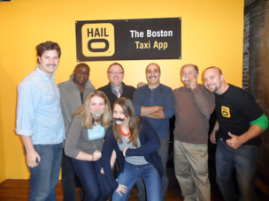 Hailo Boston Movember team