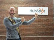 HubSpot email delivery specialist Matt Stein was on the Cambridge marketing software company's Movember team.