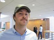 Patrick Shea, channel marketing manager at HubSpot, joined the Cambridge marketing software company's Movember team.