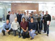 The Movember team (and supporters) at HubSpot, a Cambridge inbound marketing software company.