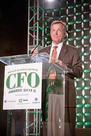As TD Bank was a presenting partner at the Boston Business Journal's CFO 2012 Awards TD Bank's Mark Crandall shared the award presentation duties.
