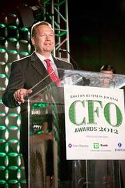 Gazelle's Christopher Sullivan was recognized as CFO of the Year in the midsize private category at the Boston Business Journal's CFO 2012 Awards.