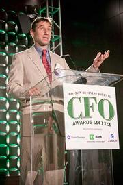 Michael Laznik of World Energy was one of two honorees in the large private category CFO of the Year at the Boston Business Journal's CFO 2012 Awards.
