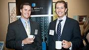 At 7:30 in the morning it was all about the coffee at the 2012 CIO of the Year hosted by Mass High Tech and the Boston Business Journal for Andrew Merriken of Commonwealth Financial Group and Chris Adams of Digital Realty. Both expressed gratitude for photographic proof to their bosses that they attended.