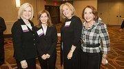 Principals of Benoit Mizner Simon – Debi Benoit, Amy Mizner and Sheryl Simon – met up with the Girl Scouts of Eastern Massachusetts' Ruth Bramson at the Boston Business Journal's Top 100 Women-Led Businesses breakfast.