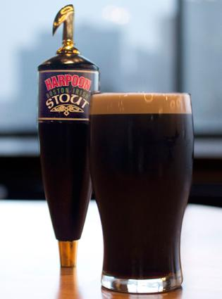 Harpoon aims to take on Guinness with an Irish stout that will compete for a limited number of nitro taps at Boston bars.
